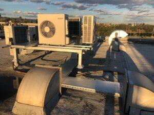 Calefacción industrial de bajo consumo
